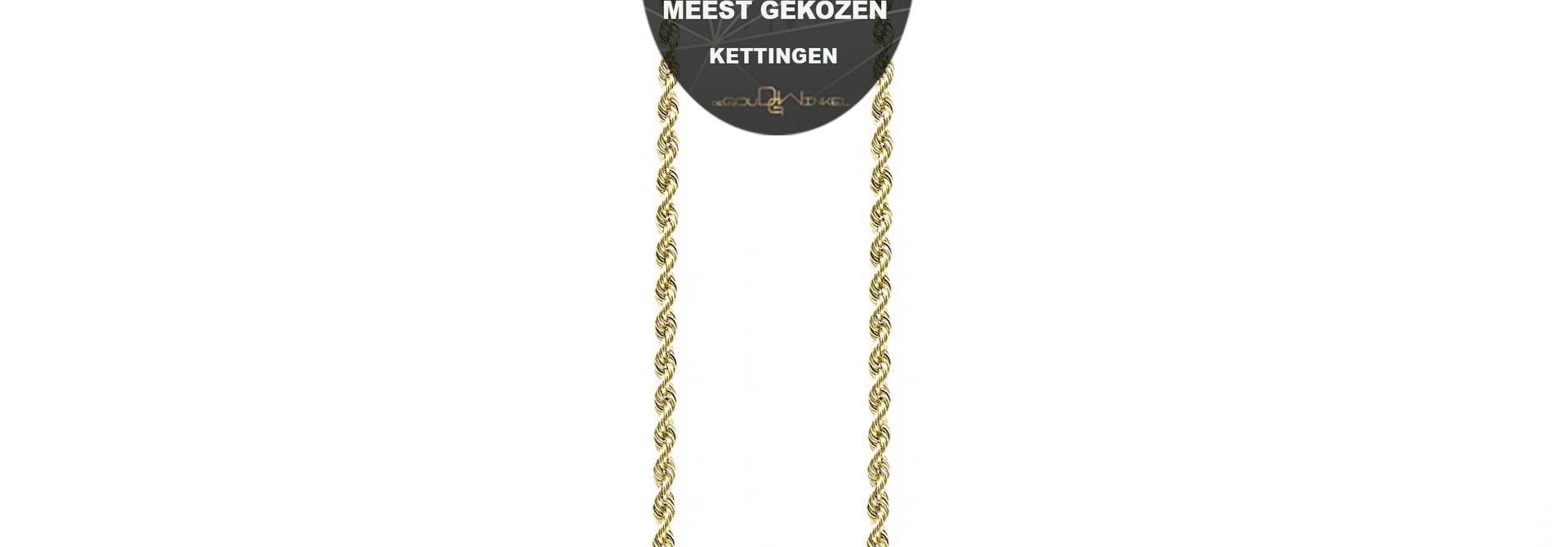 Rope Chain 18k-2,5 mm