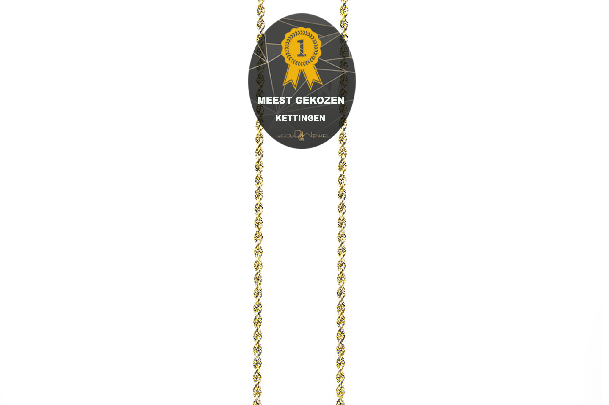 Rope Chain 18k-2,5 mm-1