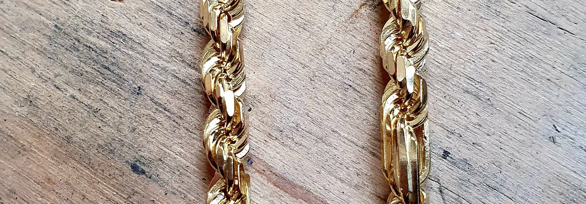 Rope chain Figarope 18kt 5mm