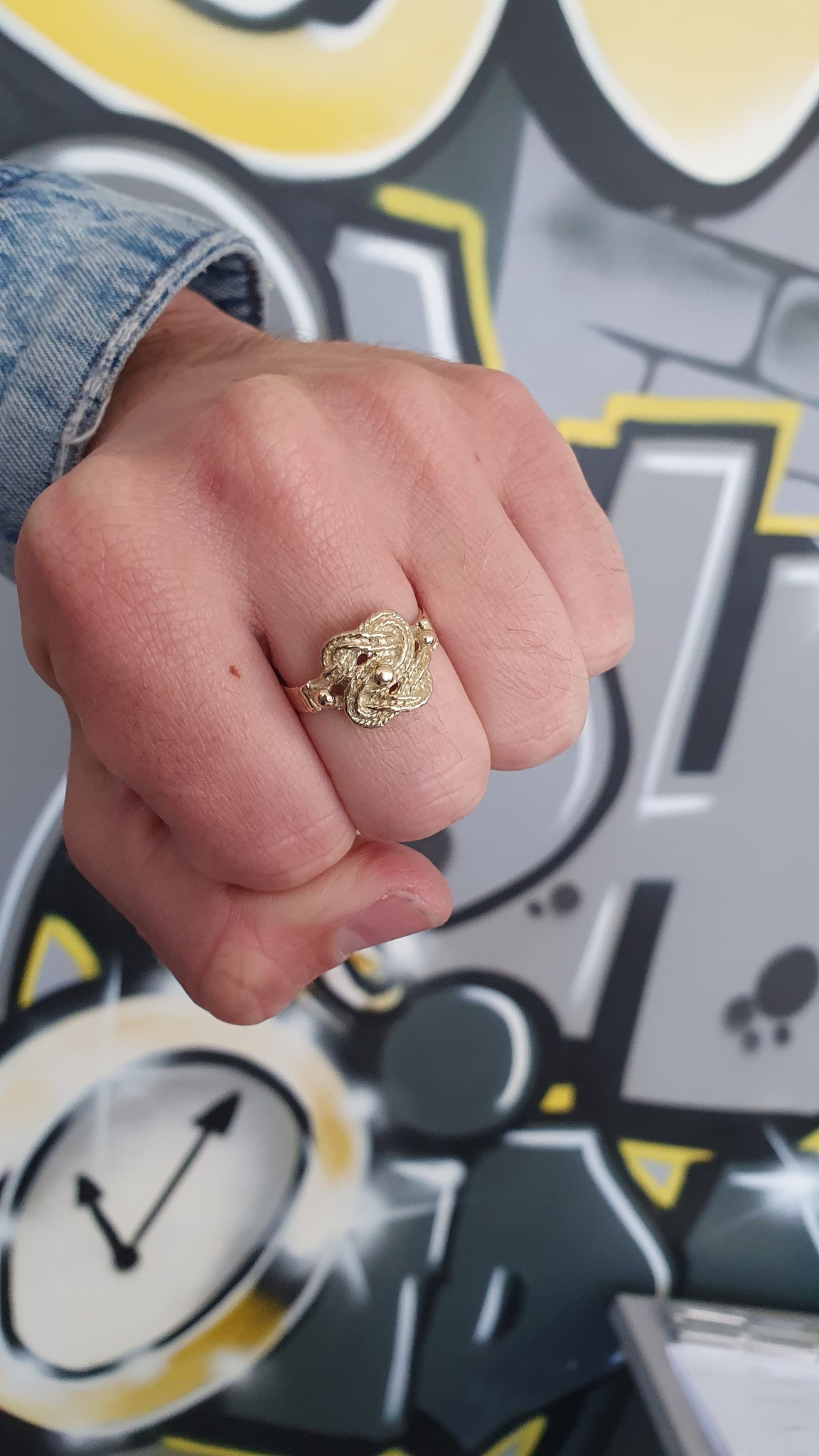 Mattenklopper ring-2