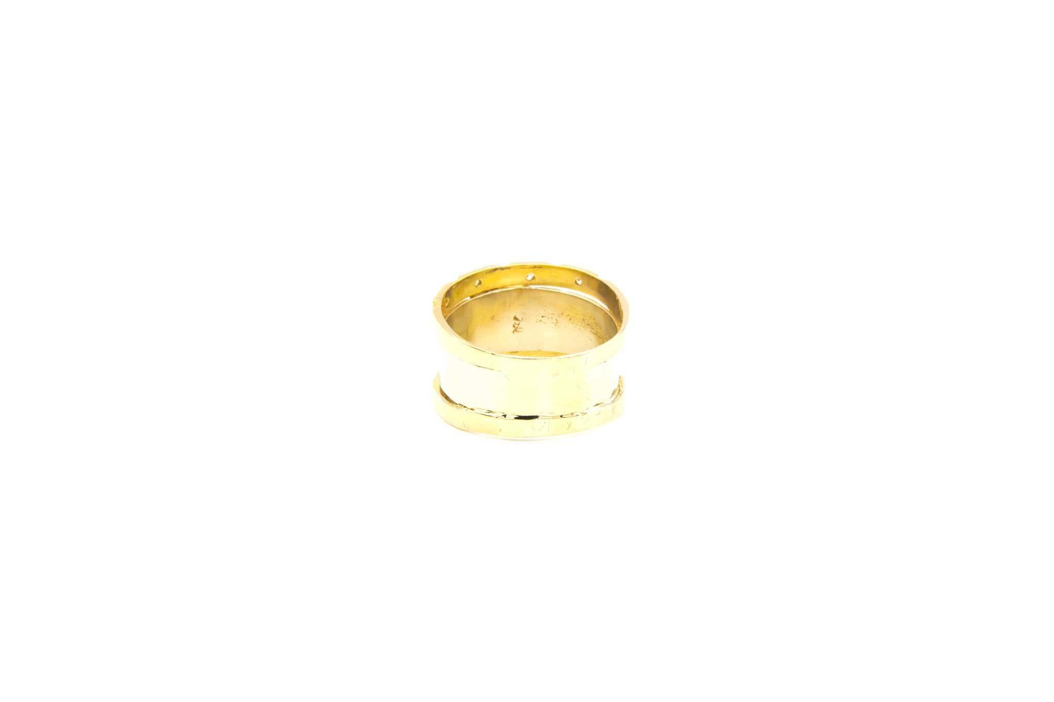 Ring bicolor met diamant-3