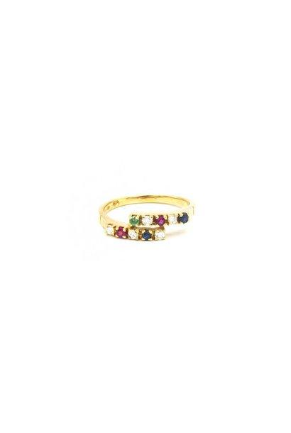 """""""Chaira"""" ring met diamant"""