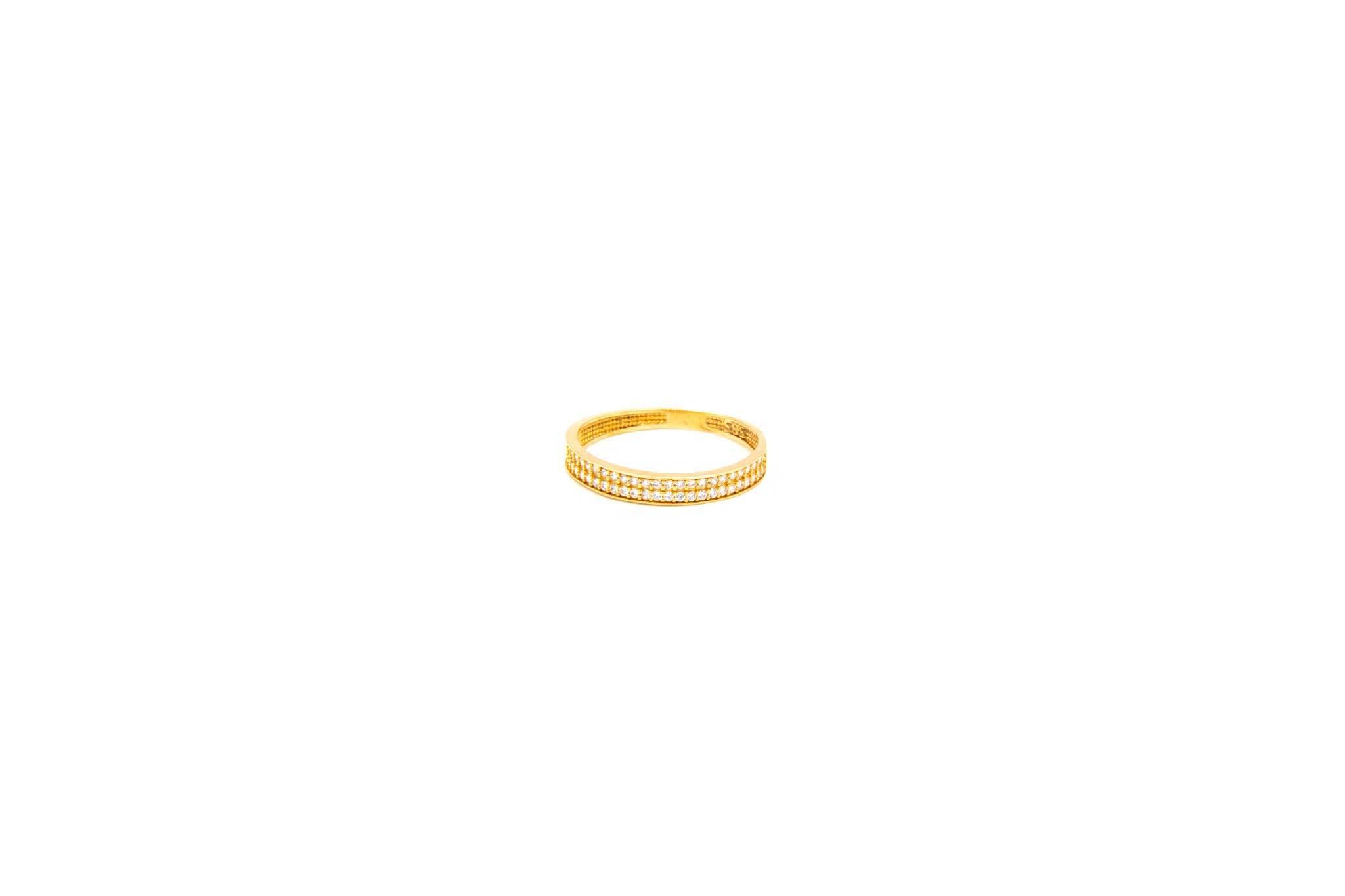 Ring alliance met zirkonia's-1