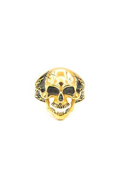 """""""Schedel"""" ring skull"""