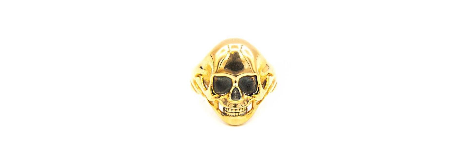 Ring skull rosé