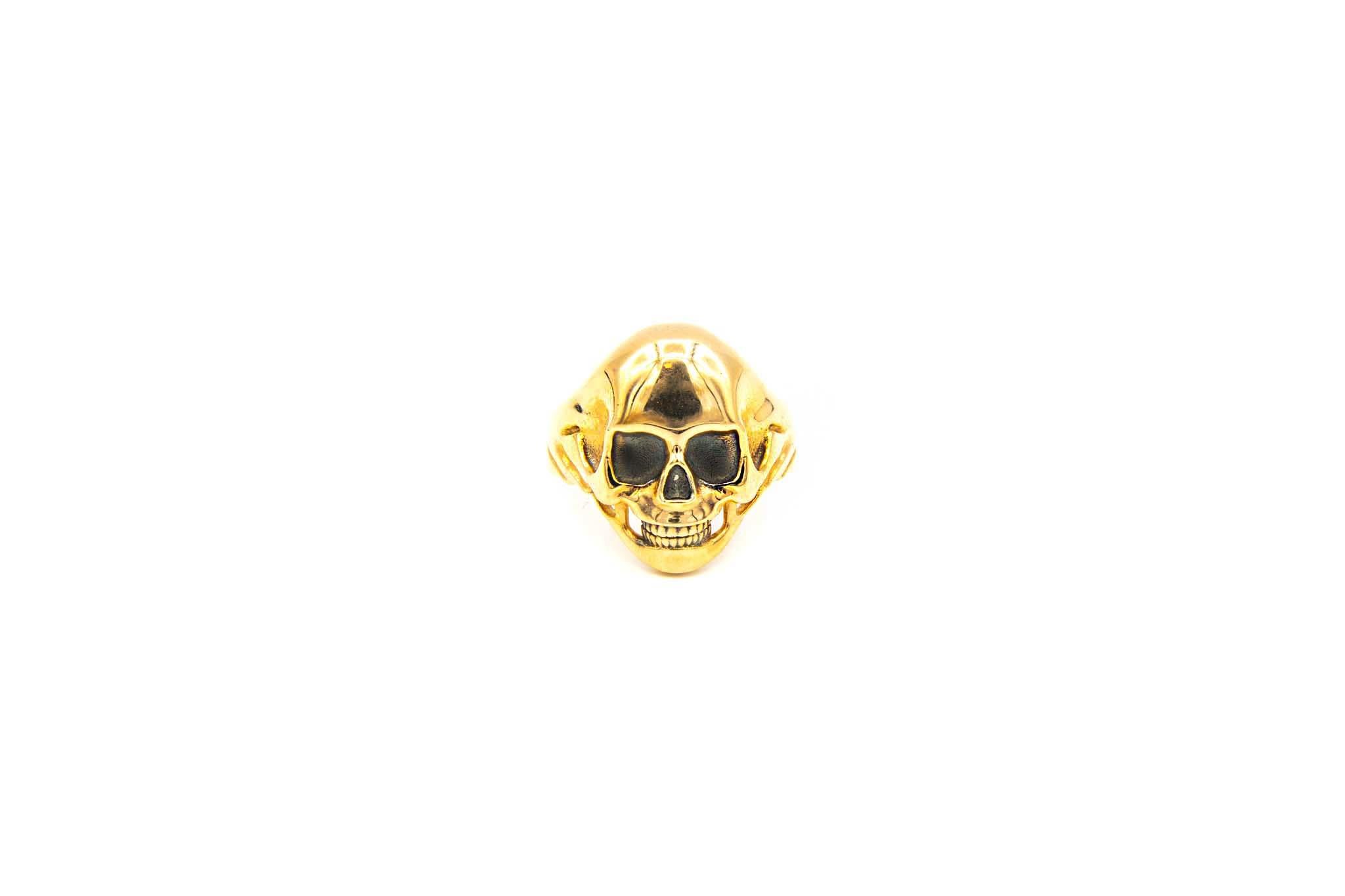 Ring skull rosé-1