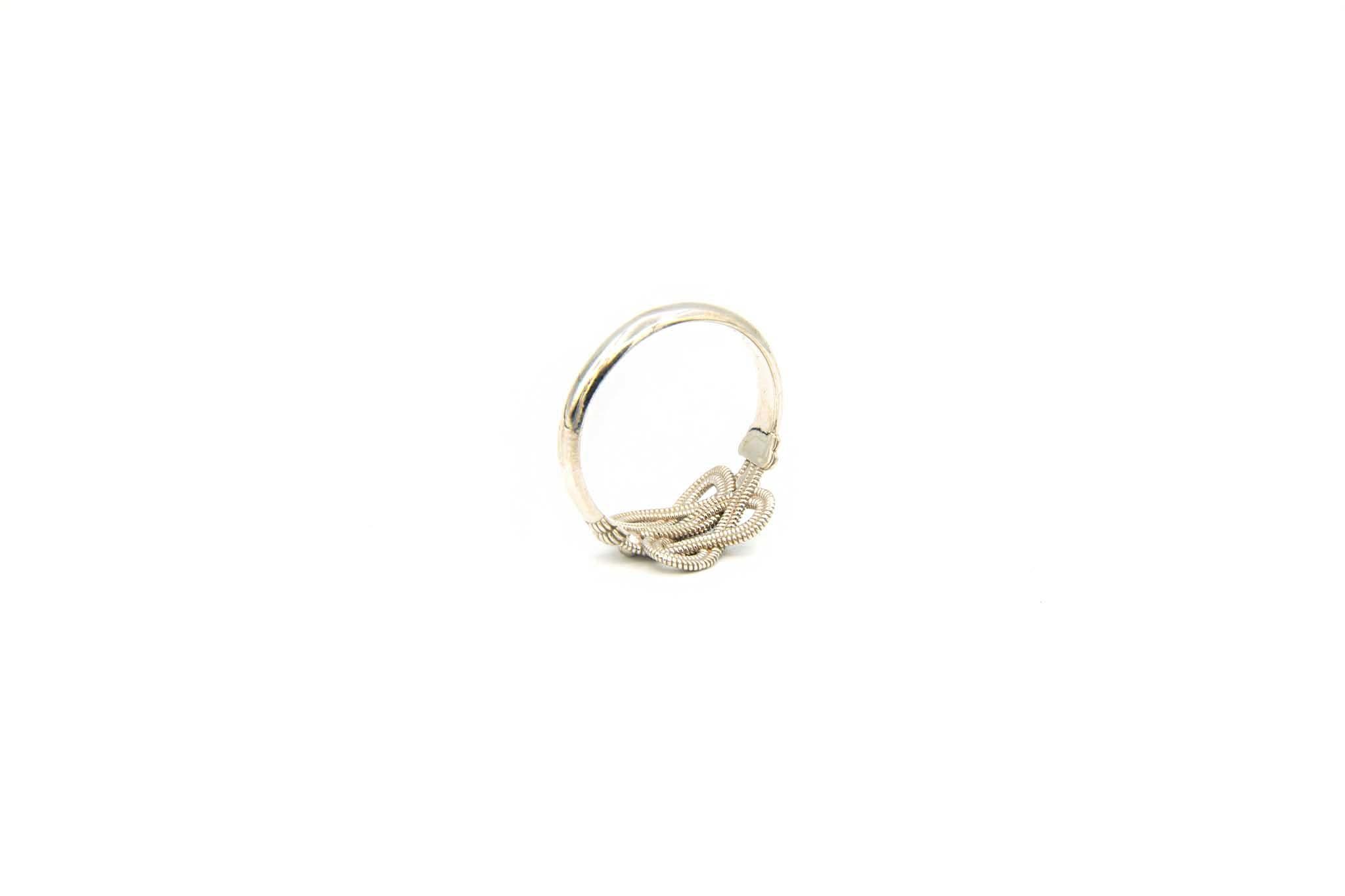 Ring zilver mattenklopper-5