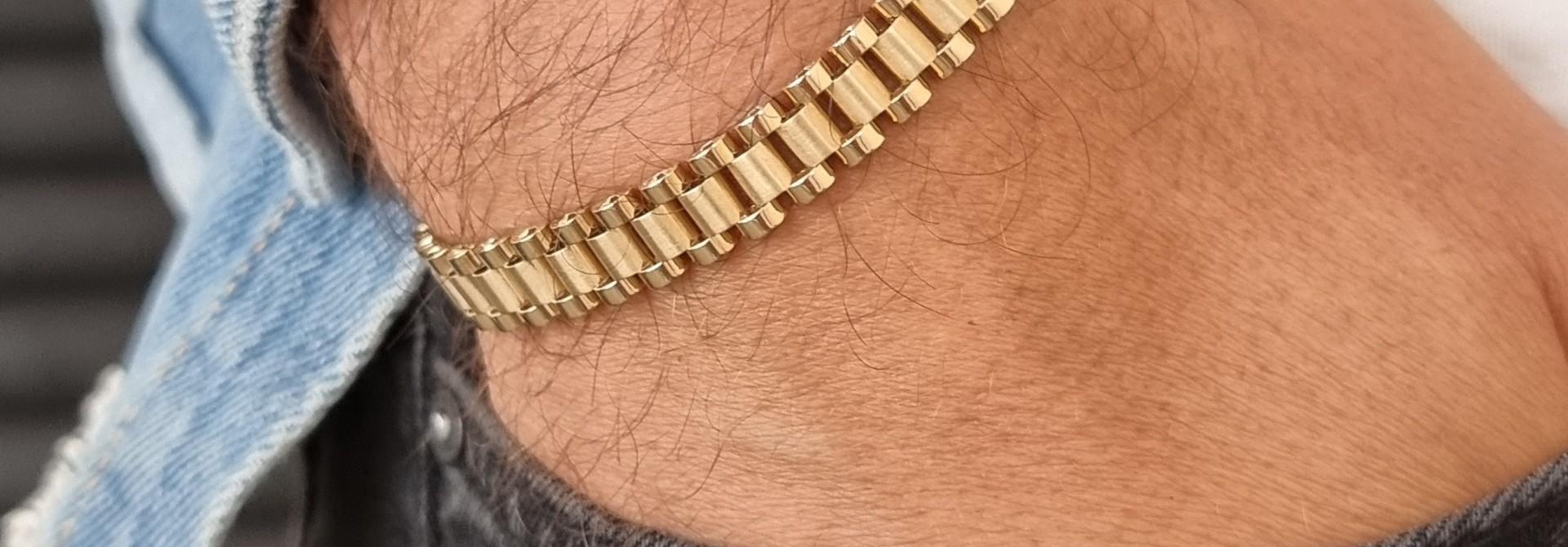 Armband met rolexschakels