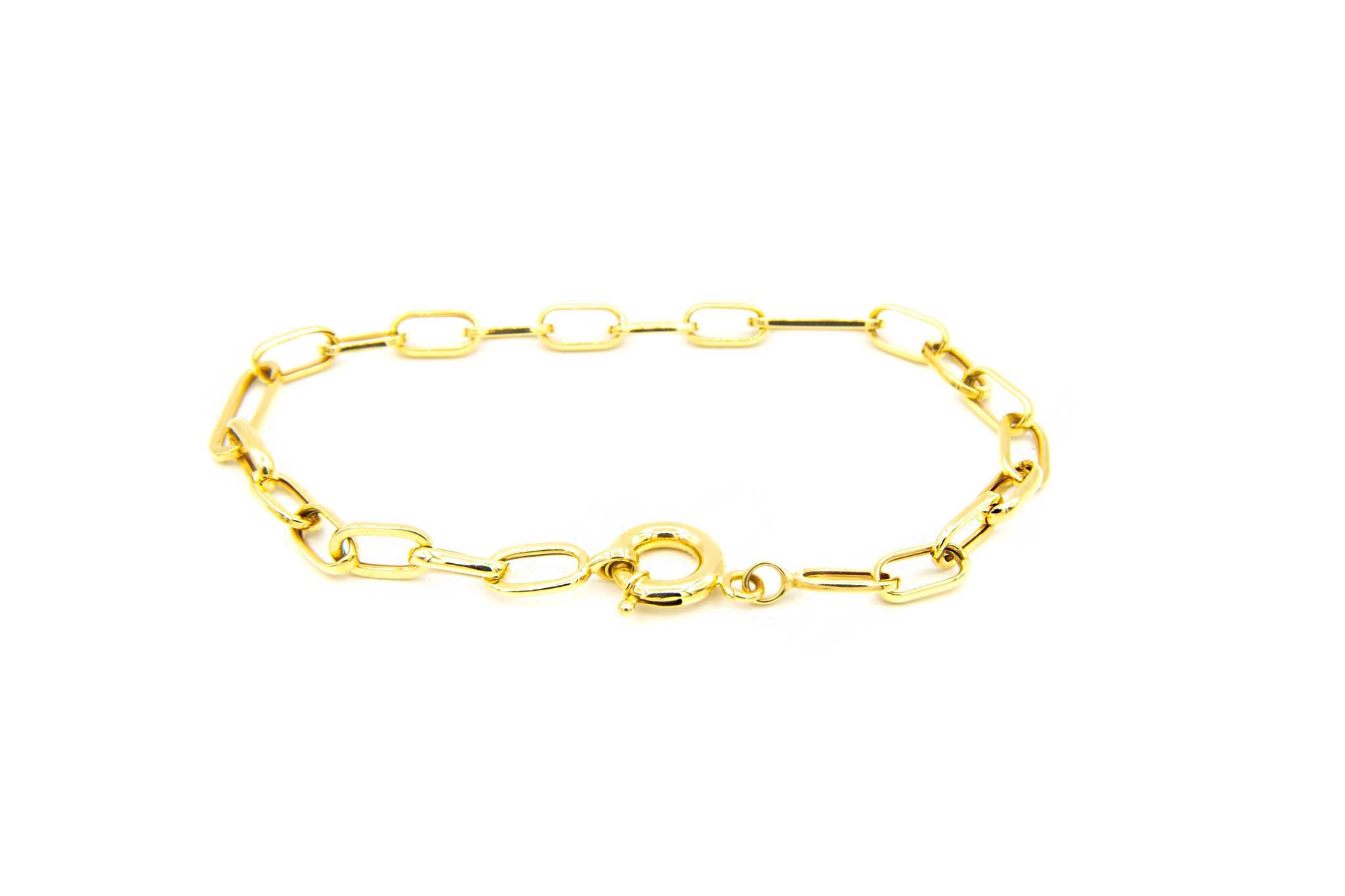 Armband met closed for ever schakels-3