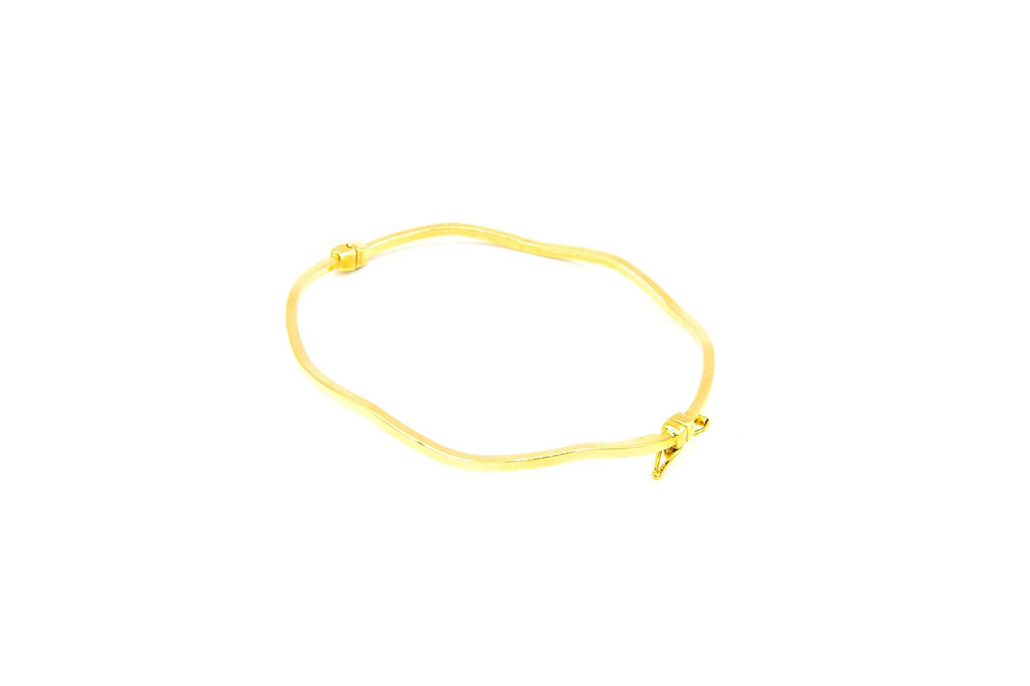 Armband golvende vaste band-2