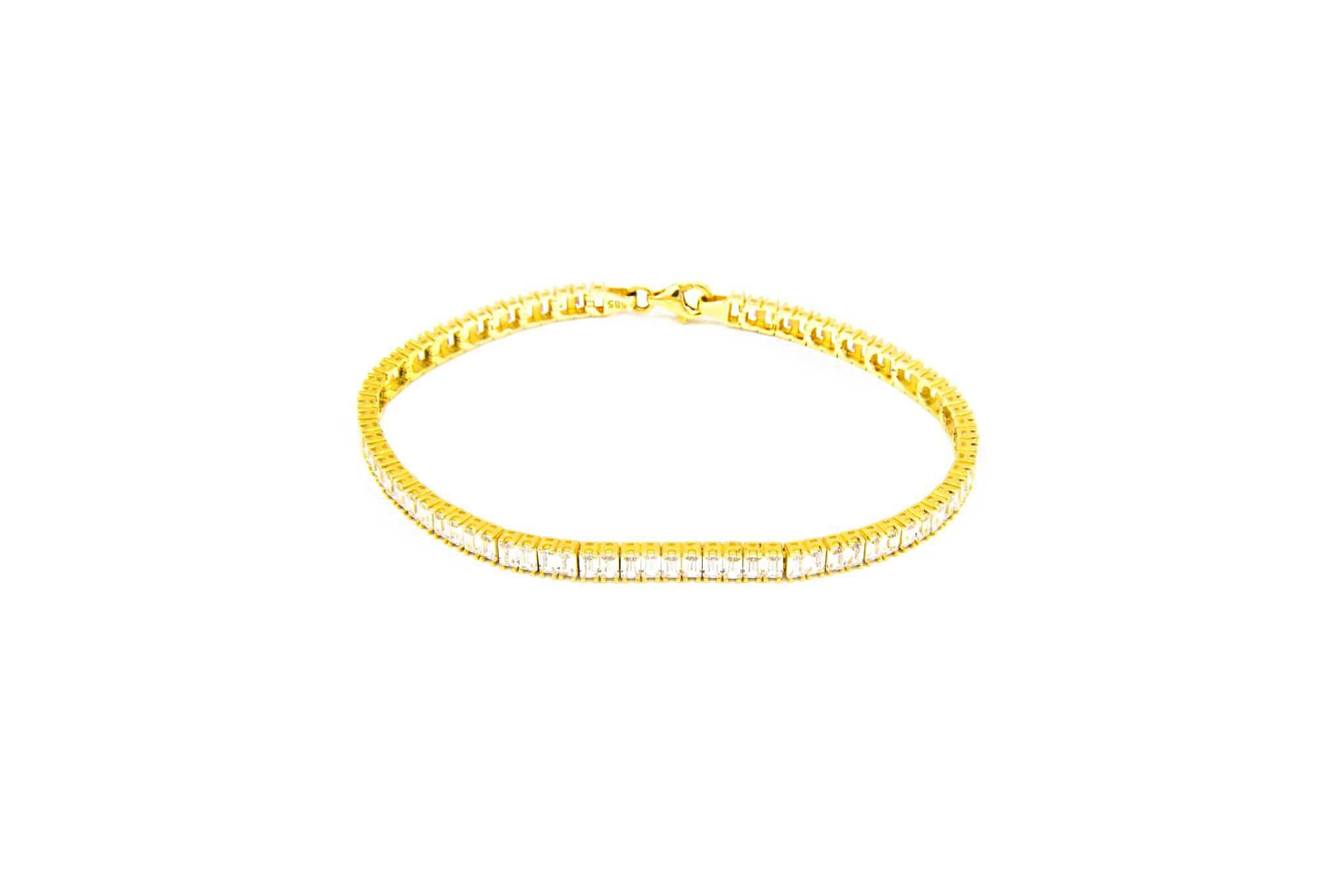 Armband tennisband met zirkonia's-1