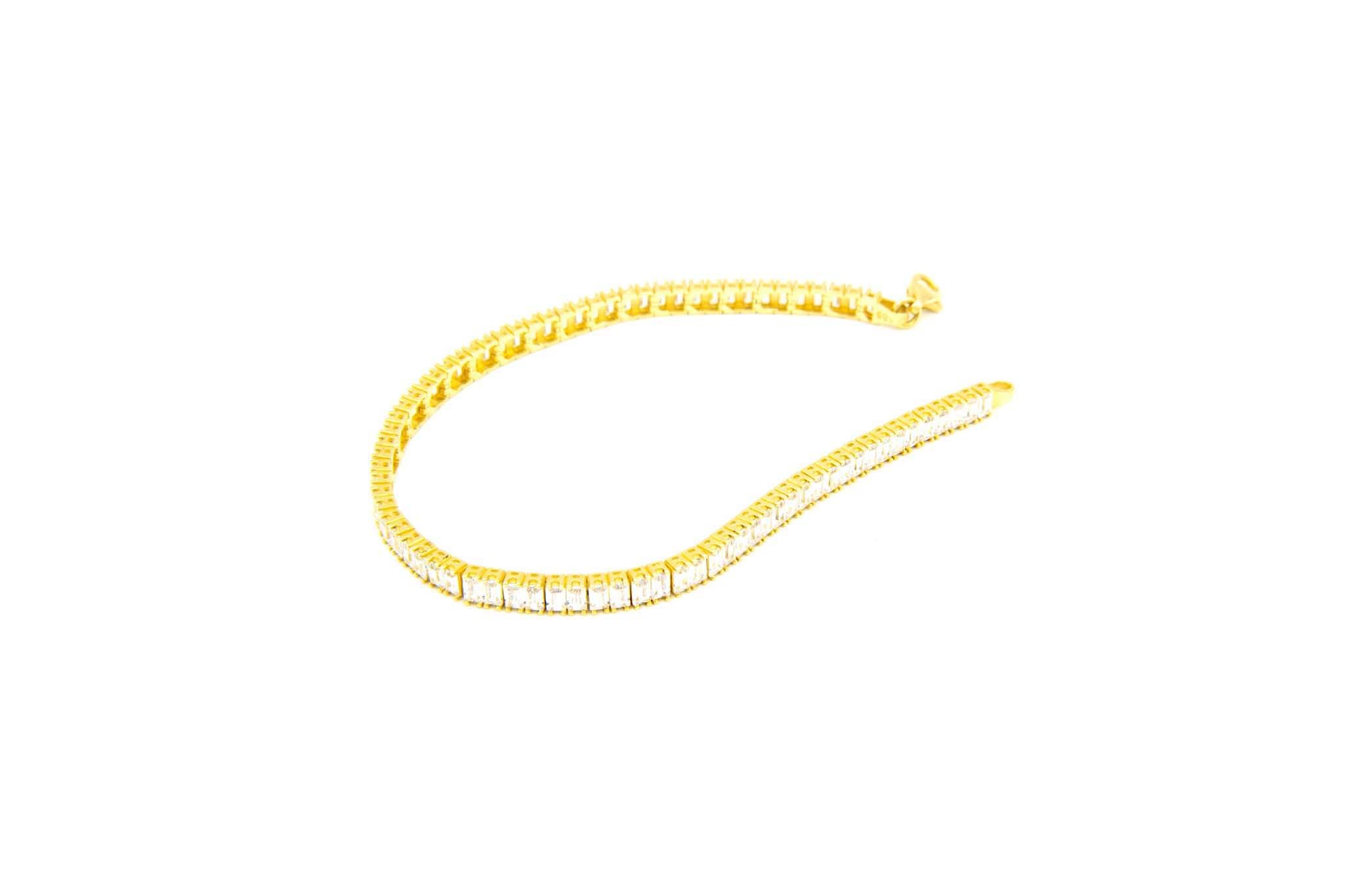 Armband tennisband met zirkonia's-2