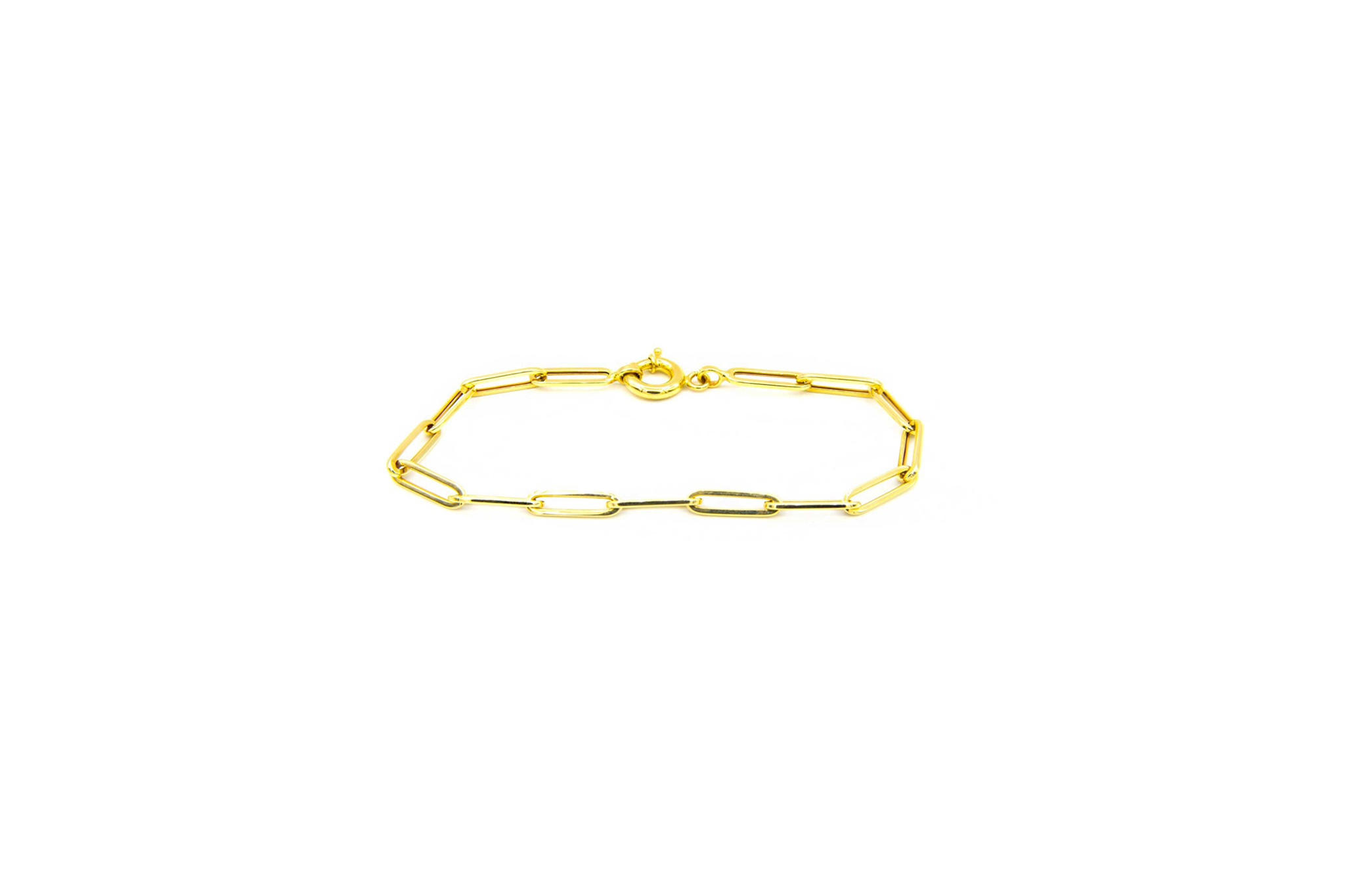 Armband met closed for ever schakels-1