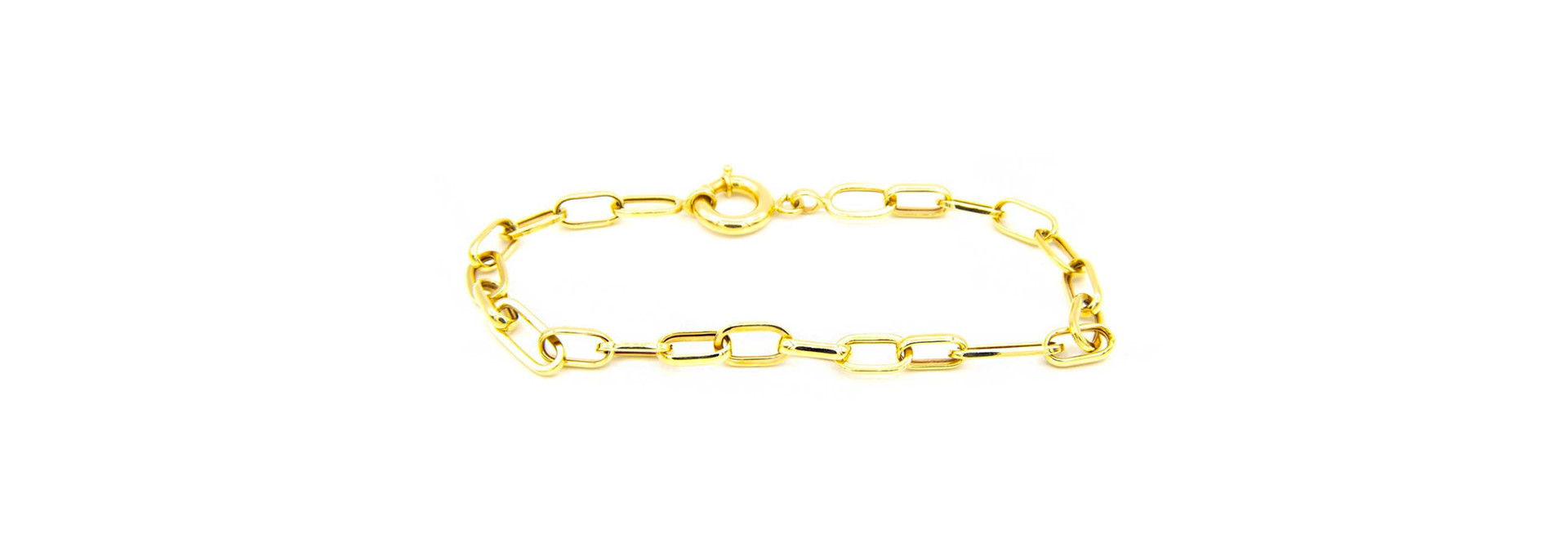 Armband met closed for ever schakels