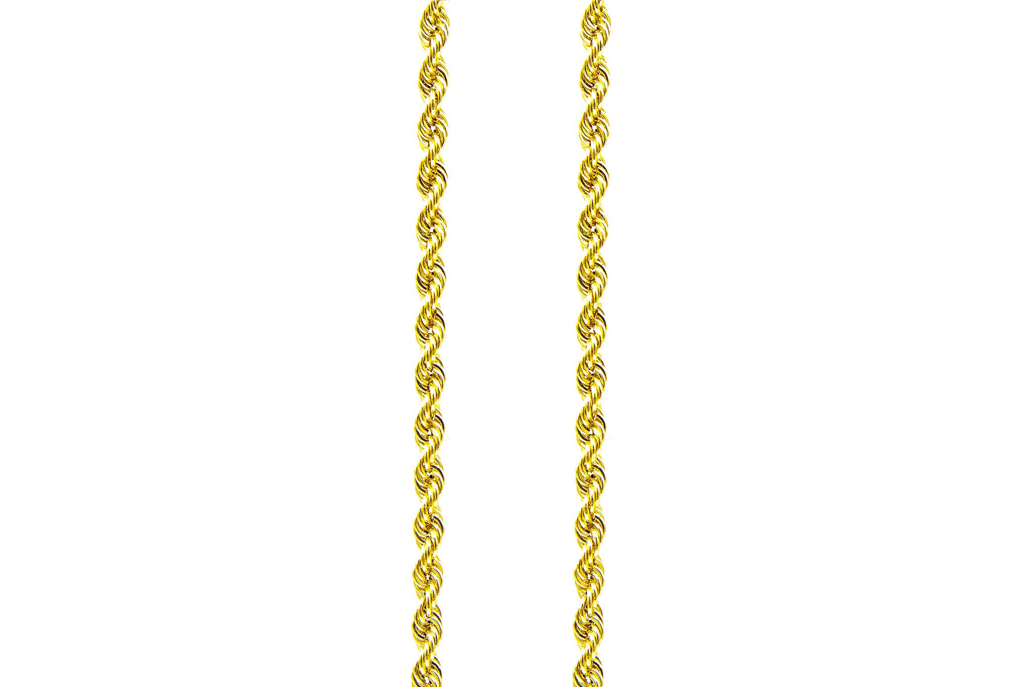 Rope chain Surinaams goud 14kt 2mm-3