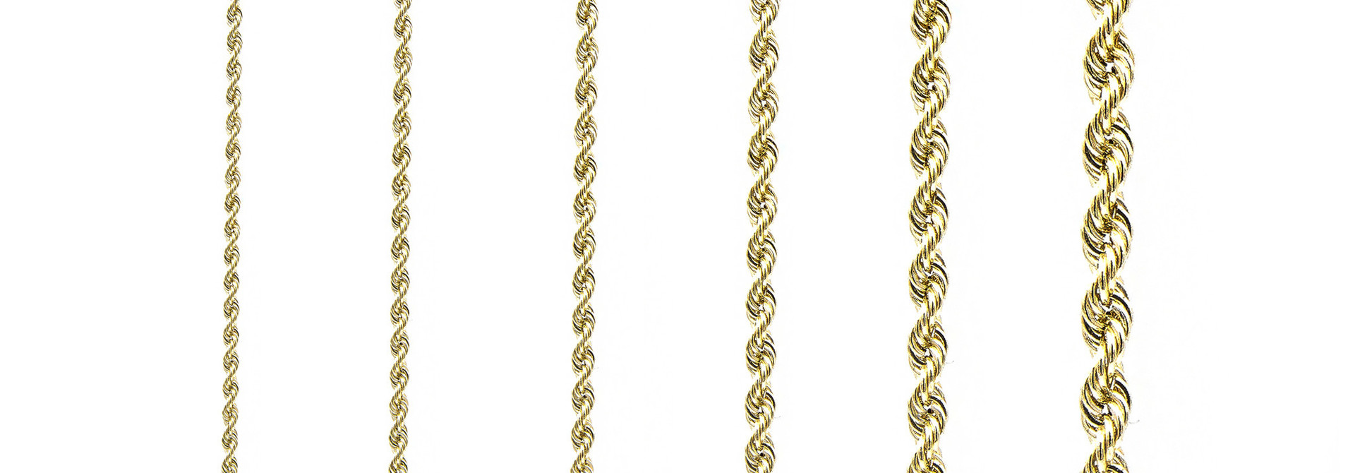 Rope armband Nederlands goud 18 kt 3mm