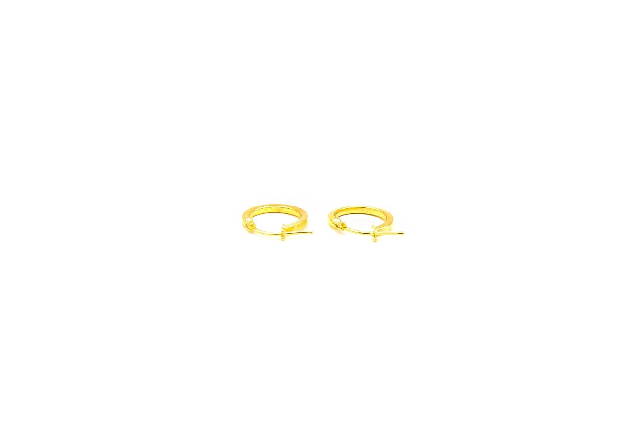 Oorbellen subtiele ringetjes afgeplat-2