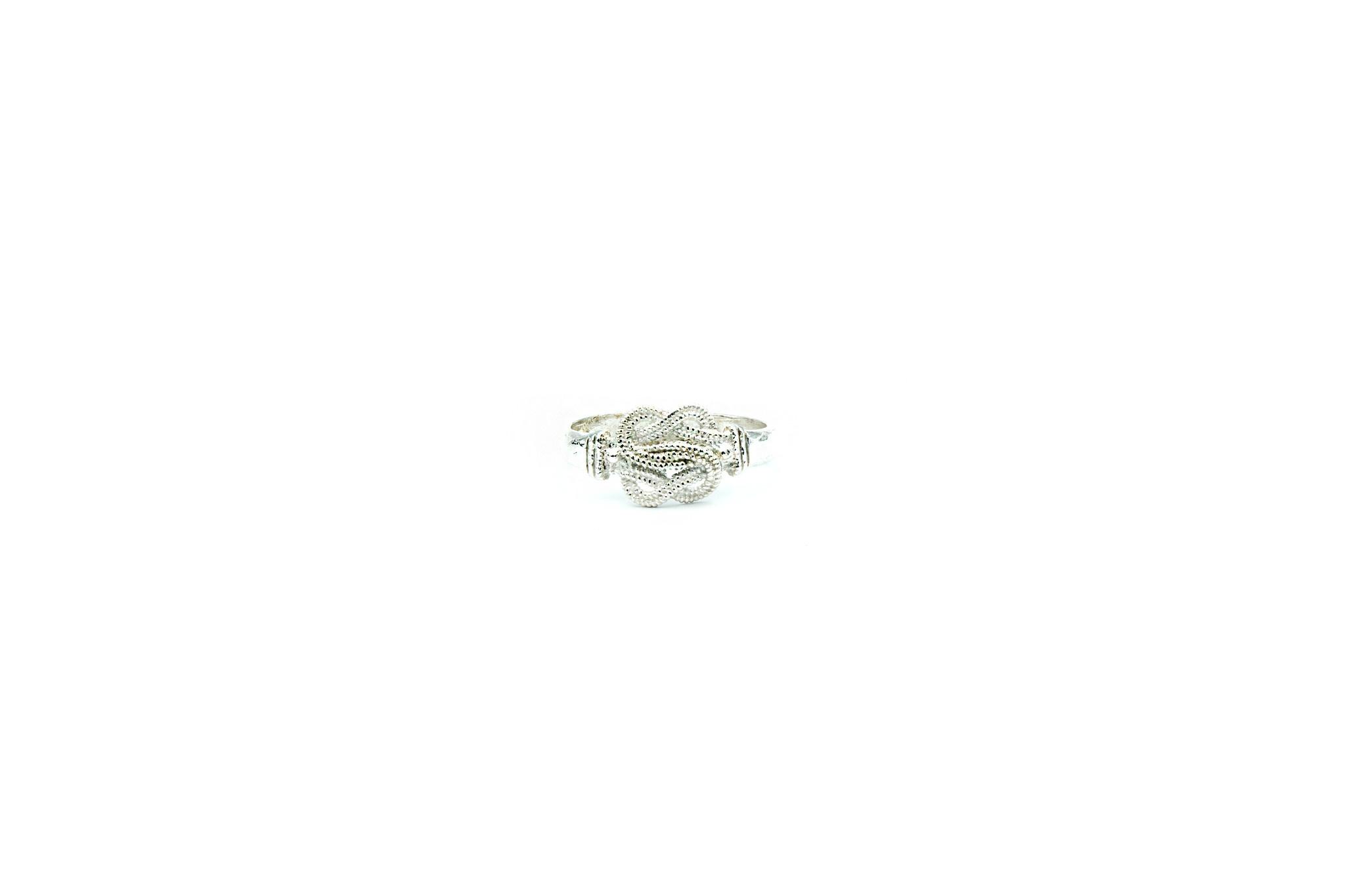 Ring mattenklopper diamond cut zilver-1