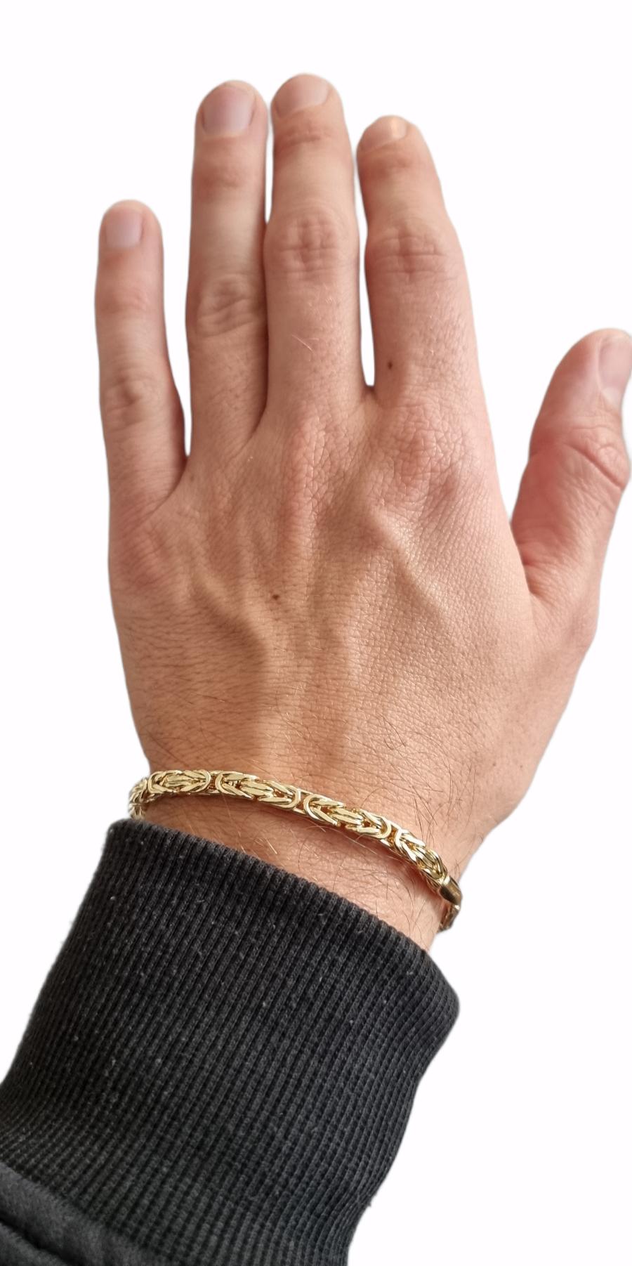 Armband koningsschakel 4.2mm-2