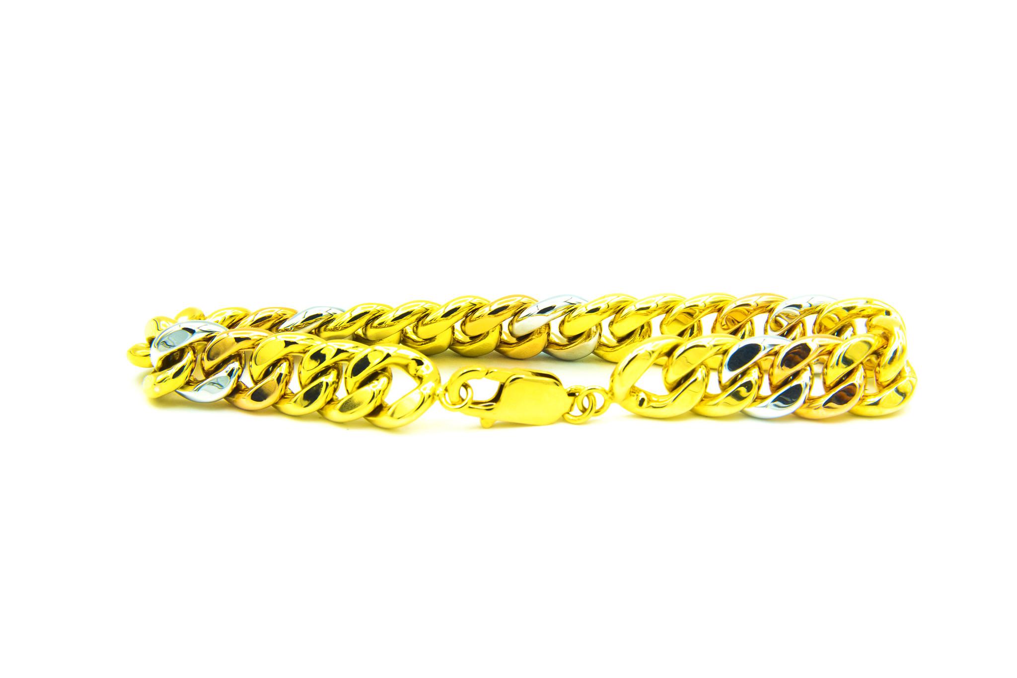 Armband Cuban Link tricolor-1