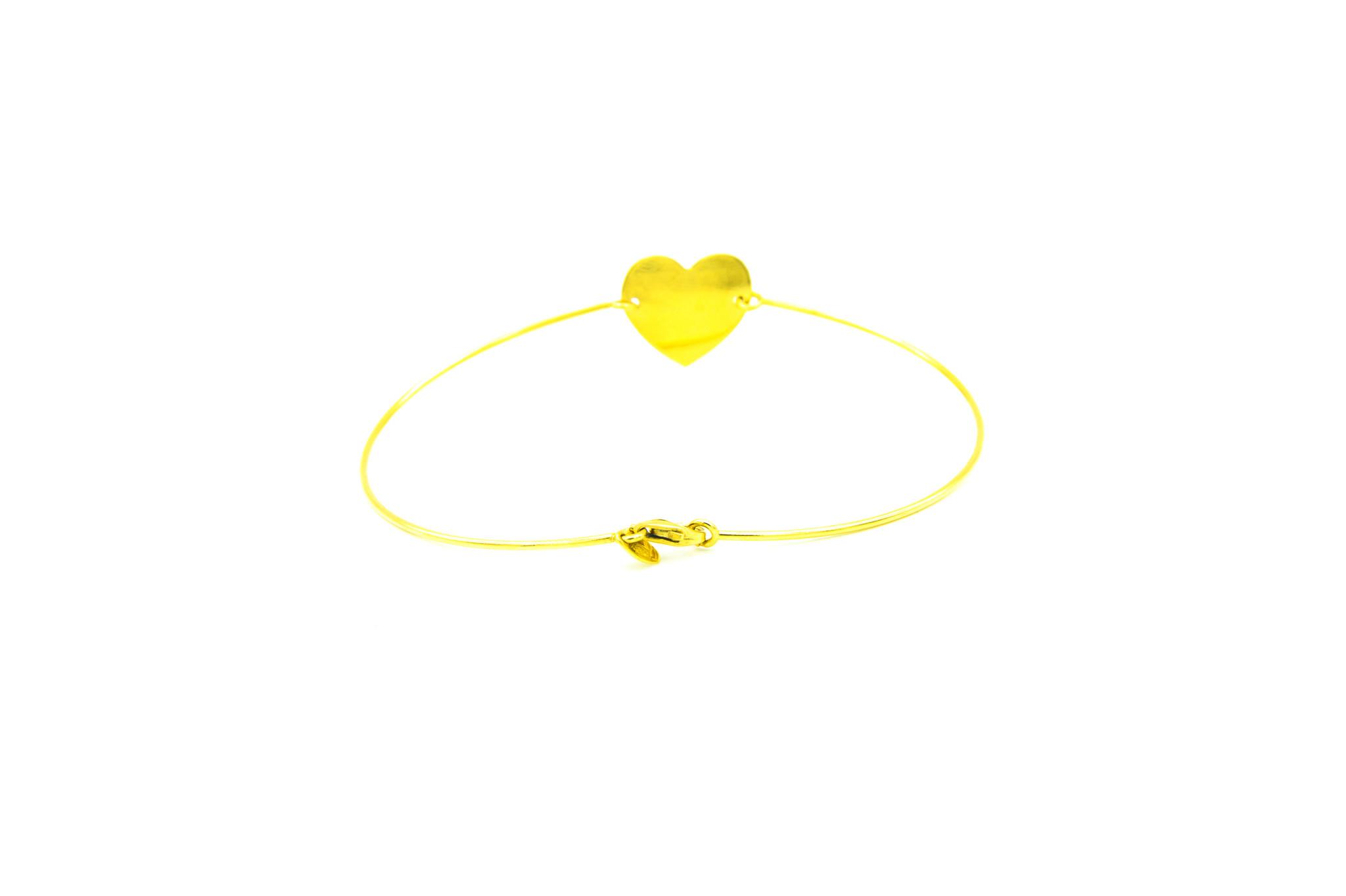Armband met hartje-3