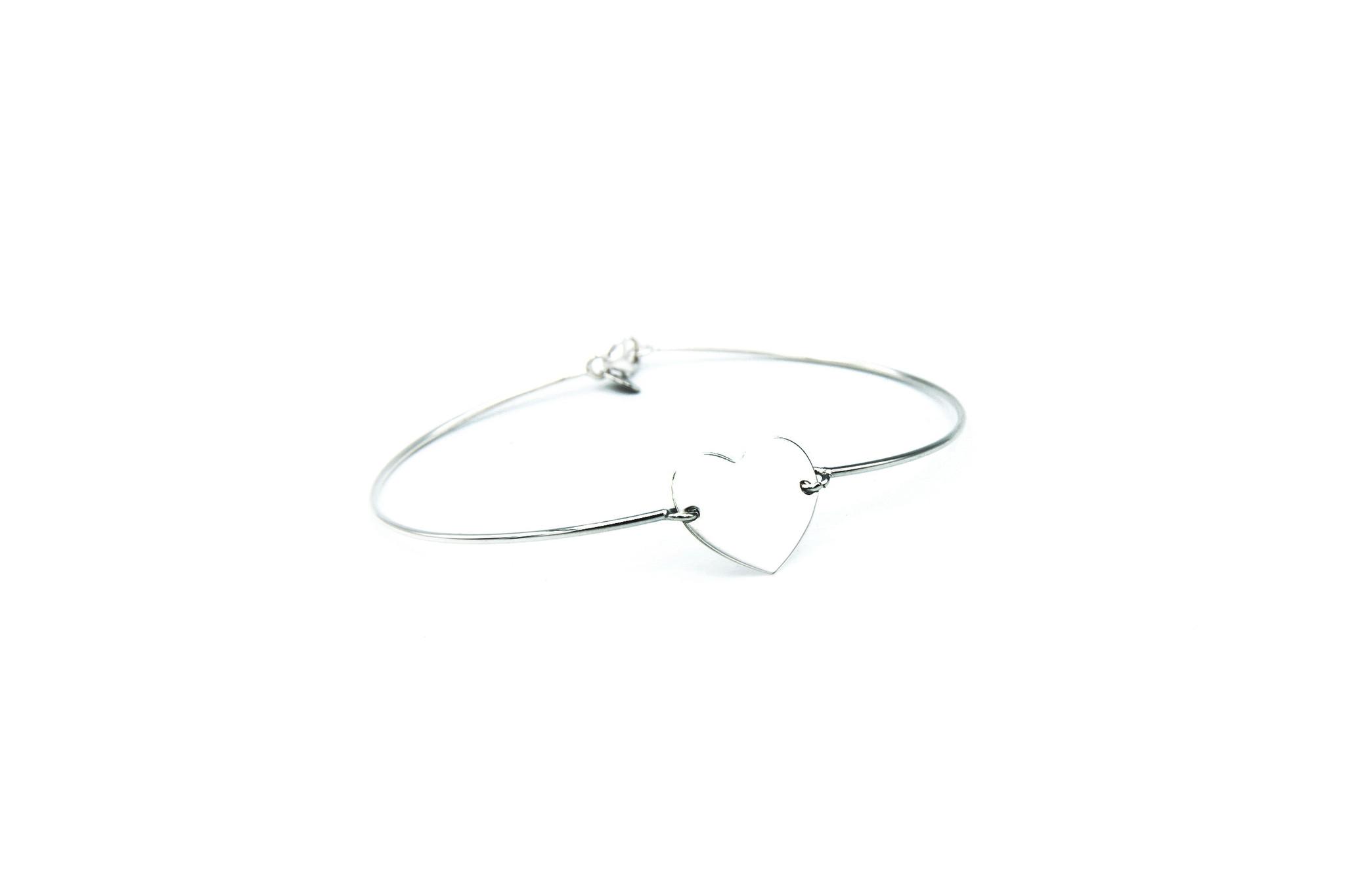 Armband met hartje-4