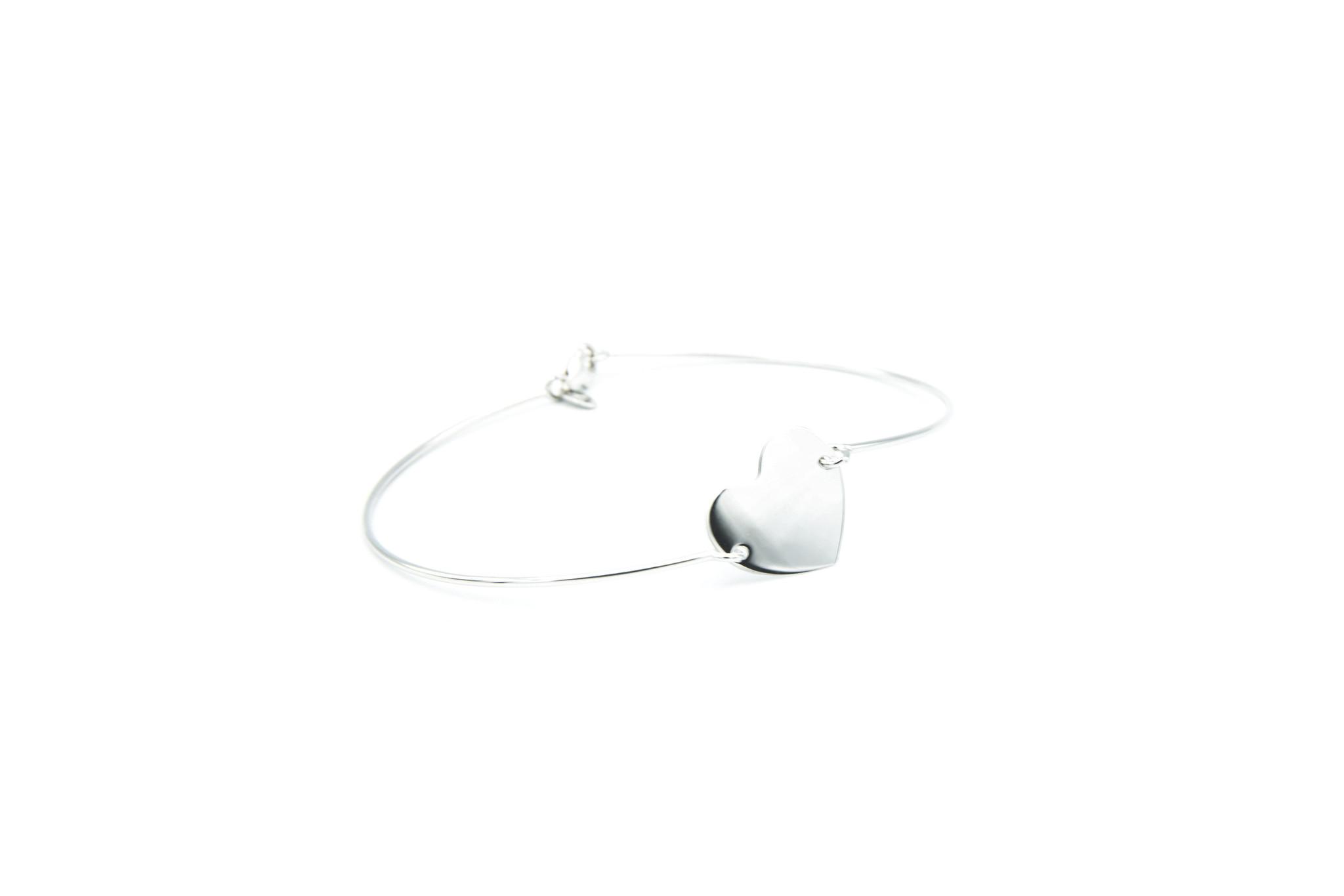 Armband met hartje-5