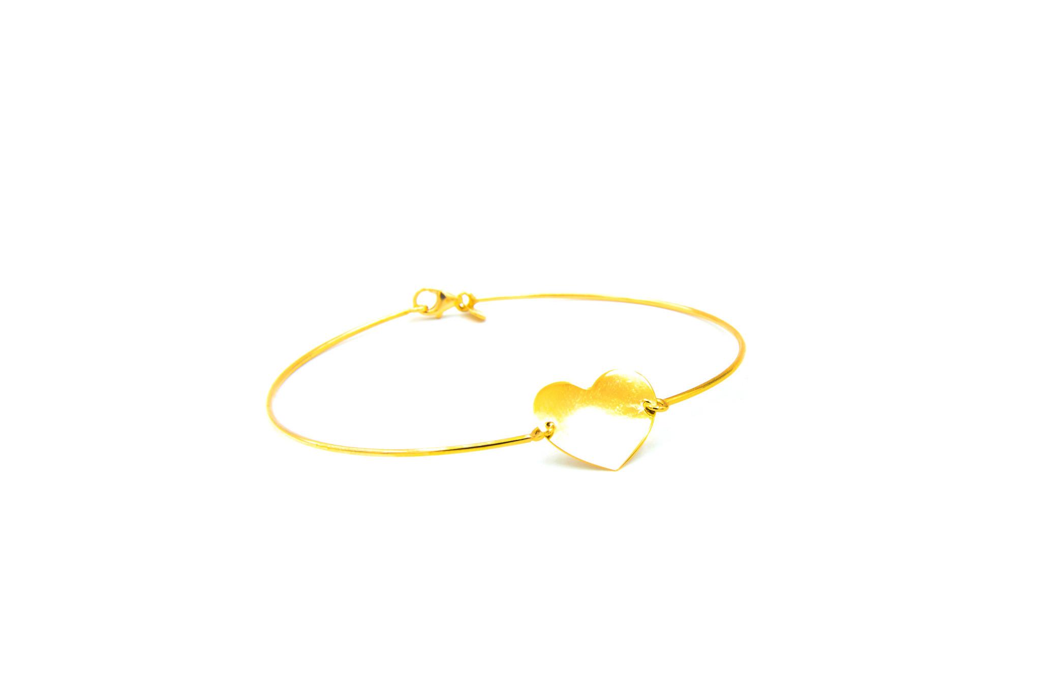 Armband met hartje-9