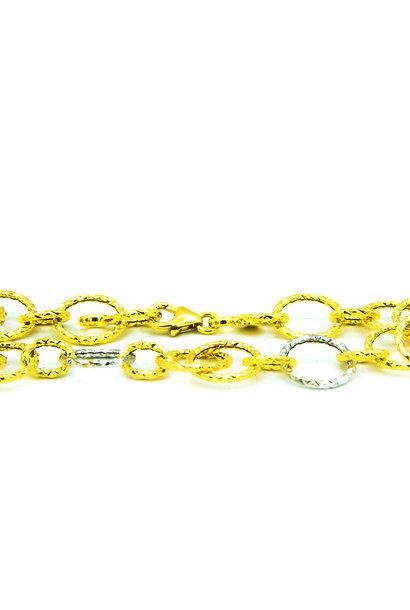 """Agneta"" armband bicolor"
