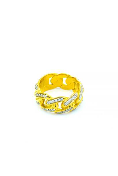 """Cuban"" ring"