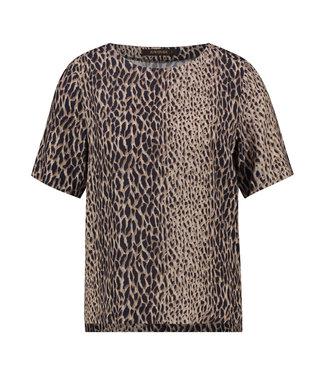 BERESA - Abstracte leopard top
