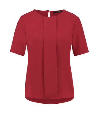 BANESI - Rode viscose top