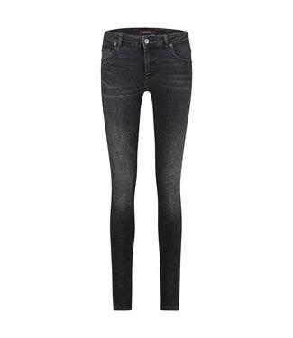 PARADISE BLACK USED - Skinnyfit Black Jeans