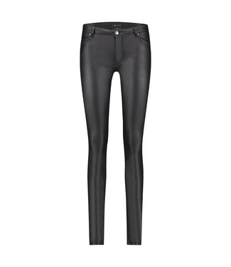 PEPPY - Gecoate black jeans