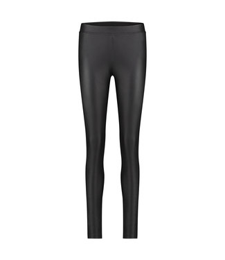 COATED BLACK LEGGING