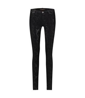 PARADISE SNAKE - High waist corduroy jeans