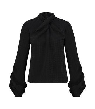 BISIA - Zwarte blouse