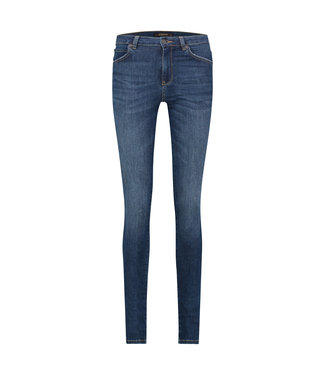 PARADISE - High waist used blue jeans