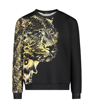 Supertrash TOPPER - Sweater Leopard Print