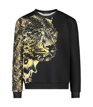TOPPER - Sweater Leopard Print