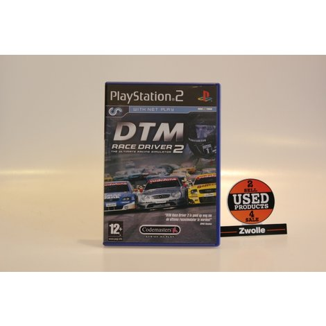 Playstation 2 Game DTM Race Driver 2