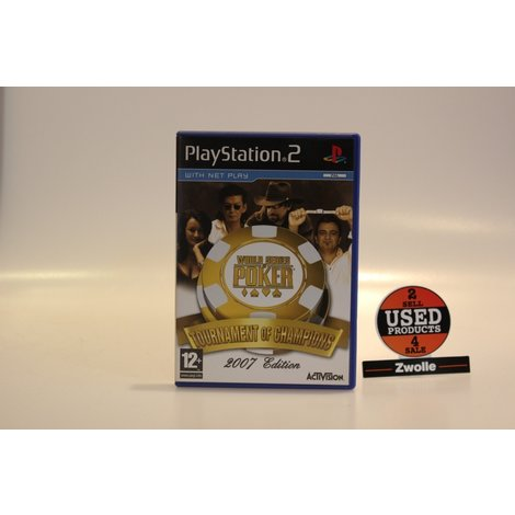 Playstation 2 Game World Series Of Poker