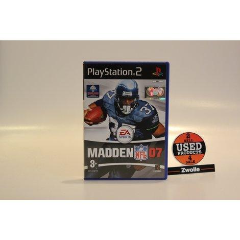 Playstation 2 Game NFL Madden 07