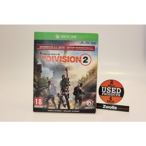 XBOX ONE game The Division 2