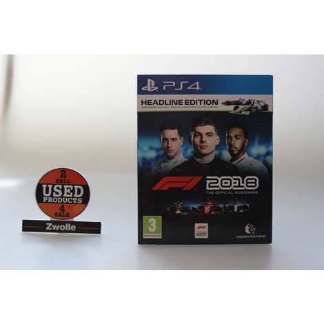 F1 2018 playstation 4 Game