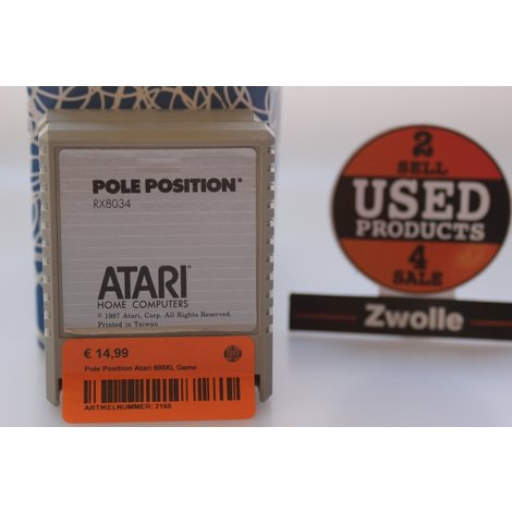 Pole Position Atari 800XL Game