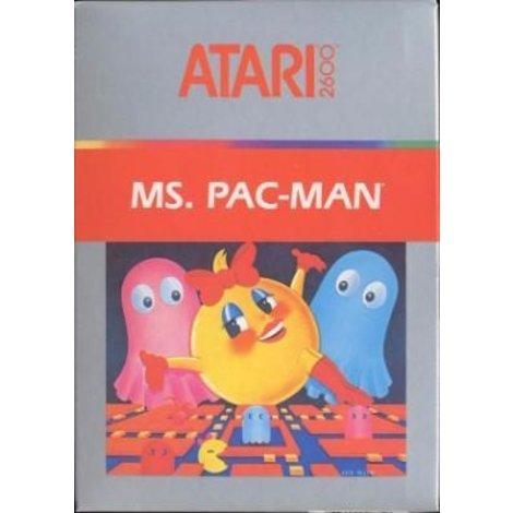 Ms. Pac-man Atari 2600 Game