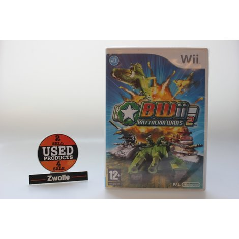 Wii game Battalion Wars 2