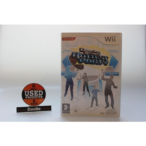 dancing stage hottest party wii game