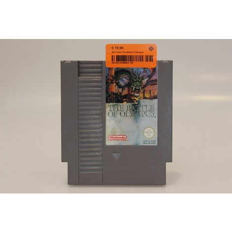 NES Game The Battle of Olympus